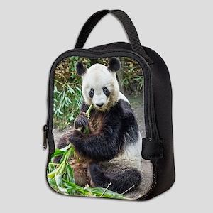 Panda Bear 1 Neoprene Lunch Bag