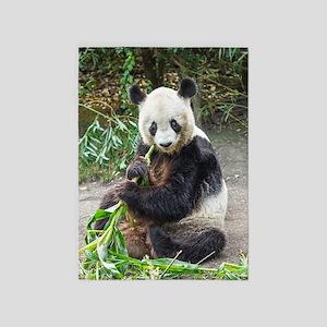 Panda Bear 1 5'x7'Area Rug
