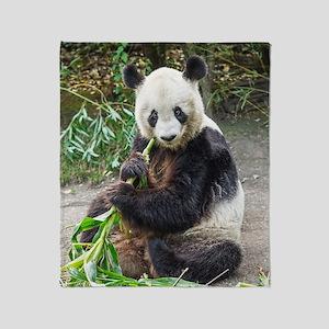 Panda Bear 1 Throw Blanket