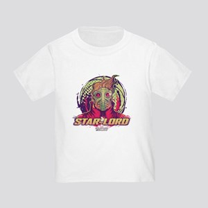 GOTG Star-Lord Head Toddler T-Shirt