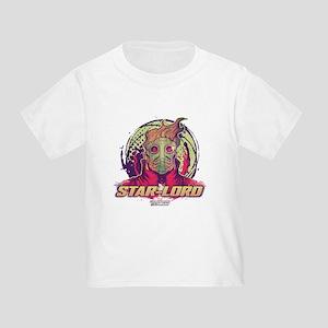 GOTG Star-Lord Head Toddler T-Shirt