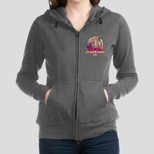 GOTG Star-Lord Head Women's Zip Hoodie