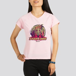 GOTG Star-Lord Head Performance Dry T-Shirt