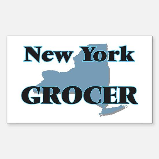 New York Grocer Decal