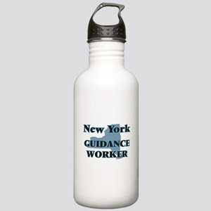 New York Guidance Work Stainless Water Bottle 1.0L
