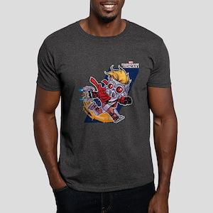 GOTG Star-Lord Running Dark T-Shirt