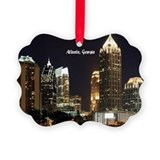 Atlanta georgia Picture Frame Ornaments