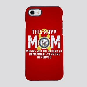 Navy Mom Wears RED iPhone 8/7 Tough Case
