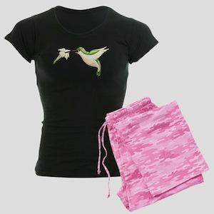 Hummingbird Women's Dark Pajamas