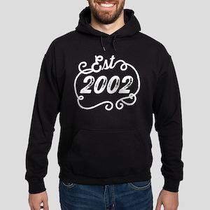 Est. 2002 Birth Year Birthday Hoodie