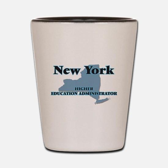 New York Higher Education Administrator Shot Glass