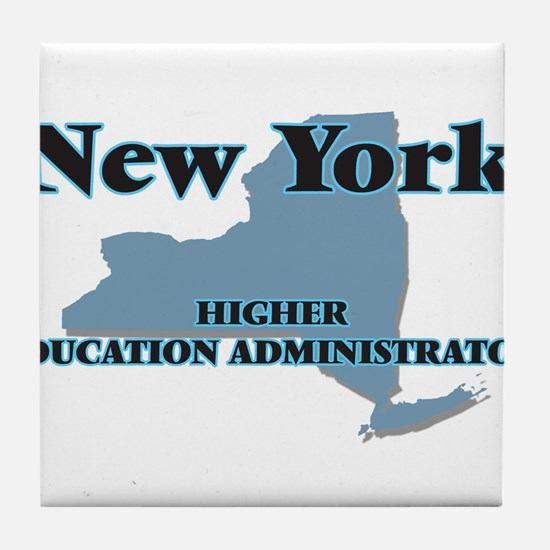 New York Higher Education Administrat Tile Coaster