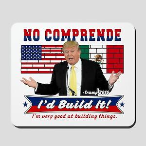 Trump 2016 Mexico US Wall Mousepad