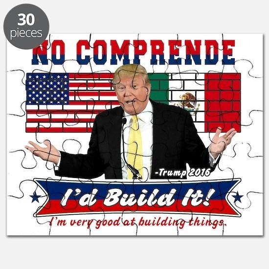 Trump 2016 Mexico US Wall Puzzle