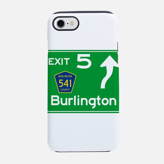 NJTP Logo-free Exit 5 Burlin iPhone 8/7 Tough Case