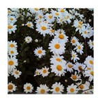 Daisy Tile Coaster