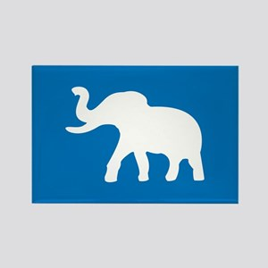 USA Elephant Rectangle Magnet