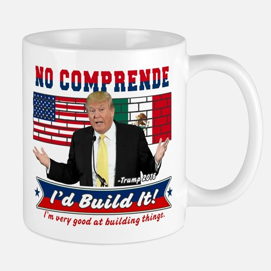 Trump 2016 Mexico US Wall Mugs