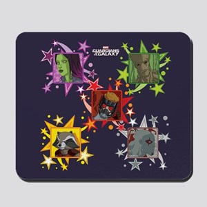 Young GOTG Stars Mousepad