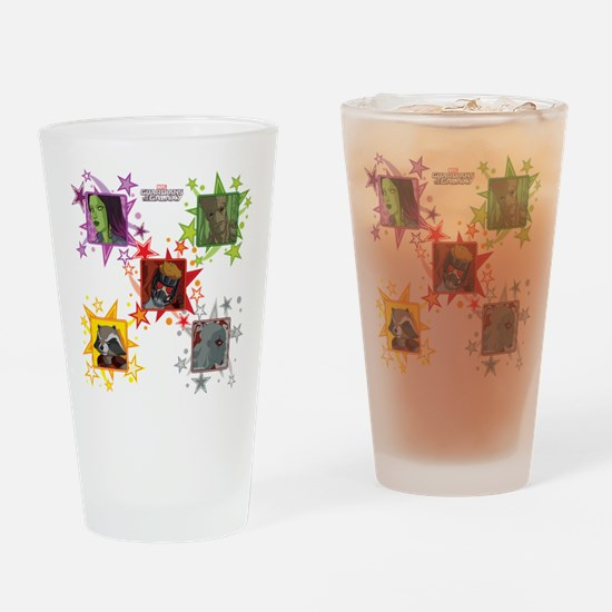 Young GOTG Stars Drinking Glass