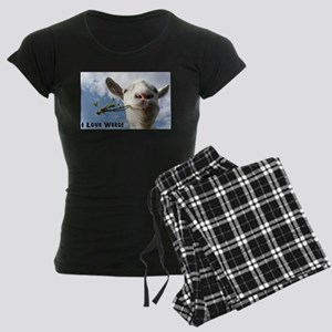 Weed Goat Women's Dark Pajamas