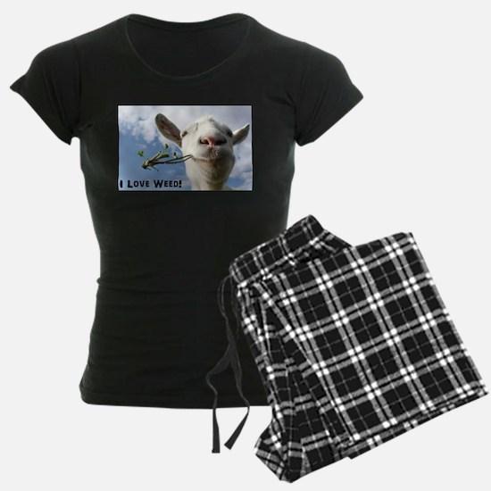 Weed Goat Pajamas