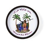 La.Vida.En.PuertoRico.2 Wall Clock