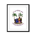 La.Vida.En.PuertoRico.2 Framed Panel Print