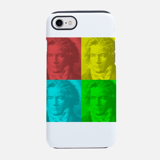 Beethoven Portrait In Square iPhone 8/7 Tough Case