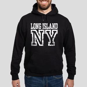 Long Island NY Hoodie (dark)