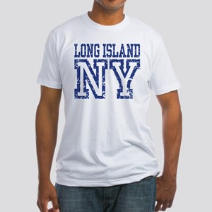 Long Island NY Fitted T-Shirt