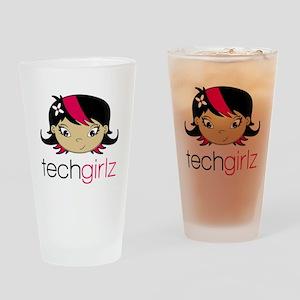 TechGirlz Drinking Glass