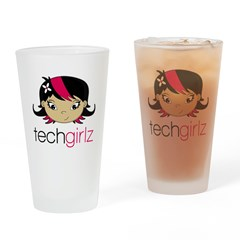 TechGirlz Drinking Glass