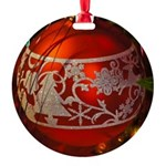 Red Christmas Ornament Ornament