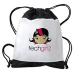 TechGirlz Drawstring Bag