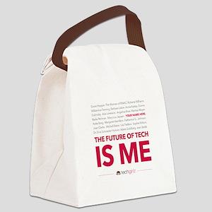 TechGirlz Canvas Lunch Bag