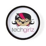 TechGirlz Wall Clock