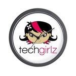 TechGirlz Wall Clock