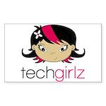 TechGirlz Sticker