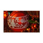 Red Christmas Ornament Wall Decal
