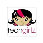 TechGirlz Sticker