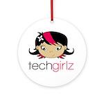TechGirlz Round Ornament
