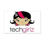 TechGirlz Wall Decal