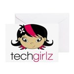 TechGirlz Greeting Cards