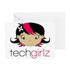 TechGirlz Greeting Cards