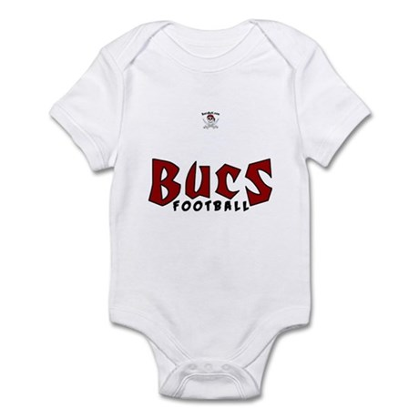 Bucs Football Infant Bodysuit