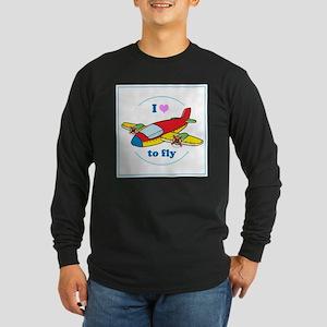 I Heart to Fly Long Sleeve T-Shirt