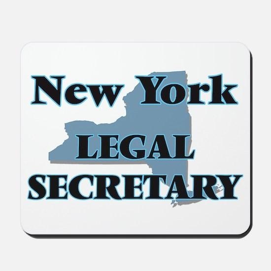 New York Legal Secretary Mousepad