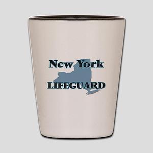 New York Lifeguard Shot Glass