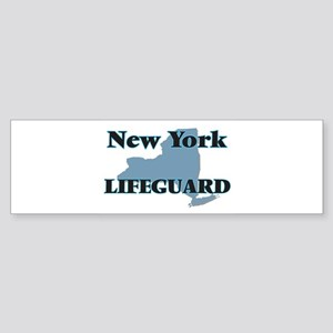 New York Lifeguard Bumper Sticker